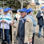 Субботник ветеранов Станкомаша. Апрель 2016 г.