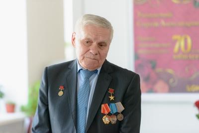 Юбилей героя соцтруда Захарова. Март 2017 г.