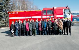 Экспозиция к 100-летию пожарной охраны. Апрель 2018 г.