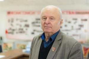Владимир Шахматов, ветеран труда, почетный металлург РФ, председатель совета ветеранов ЧТПЗ, член президиума городского совета ветеранов