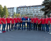 Хоккеисты клуба «Трактор» осмотрели музейную экспозицию