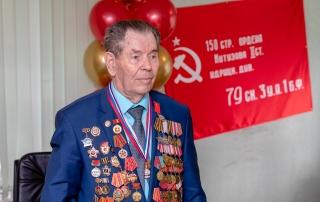 КОНАР поздравил Александра Шаламова с 95-летием