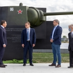 «КОНАР» и «Транснефть» установили памятник в честь создания первой в Танкограде броневой стали