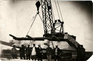 База механизации Основные кадры, которые начинали строительство 33-34 гг