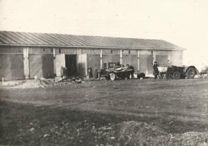 1935 год Первый гараж пожарная