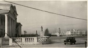 Дом культуры энергетиков в Ленинском районе, первая половина 1950-х годов