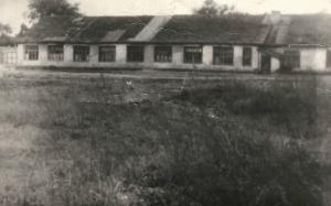 Первая больница у южной проходной, существовала до 1956 года