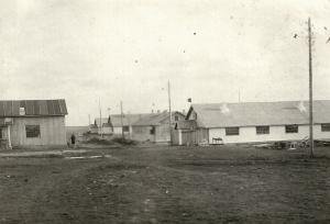 Бараки возле озерка 1933 год