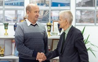 Новым председателем Совета ветеранов «Станкомаша» стал Павел Манекин